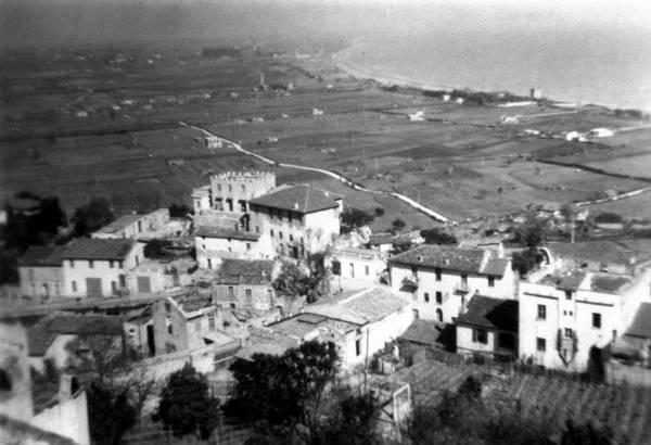 San Felice Circeo - Vista dall´alto del Centro Storico del Circeo