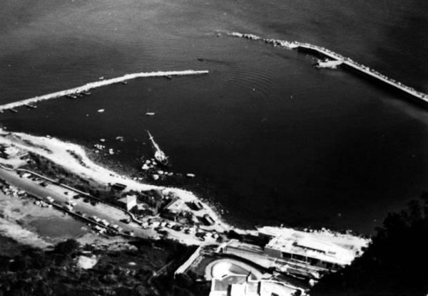 San Felice Circeo - Il porto turistico in fase di realizzazione