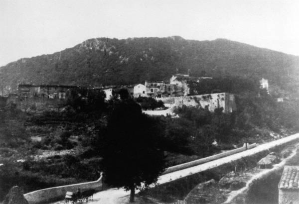 San Felice Circeo - Centro storico visto da San Rocco