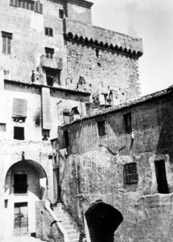 San Felice Circeo - Angolo della Piazza del Convento