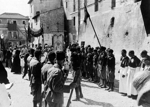 San Felice Circeo - Feste paesane in era Fascista