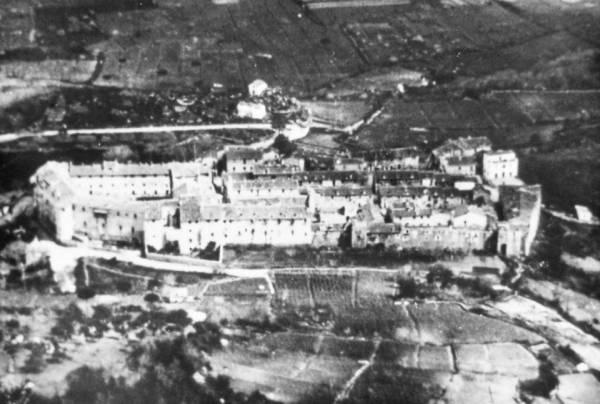 San Felice Circeo - Centro storico vista aerea